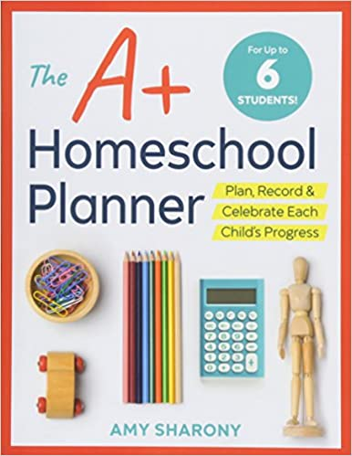 graphic regarding Homeschool Grade Book Free Printable identified as : The A+ Homeschool Planner: Method, Heritage, and