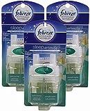Febreze Sleep Serenity Bedroom Diffuser, Noticeables, Quiet Jasmine, Refills (Pack of 3)