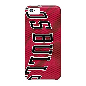 Ultra Slim Fit Hard VariousCovers Case Cover Specially Made For Iphone 5c- Chicago Bulls