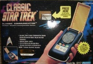 - Classic Star Trek Electronic Communicator