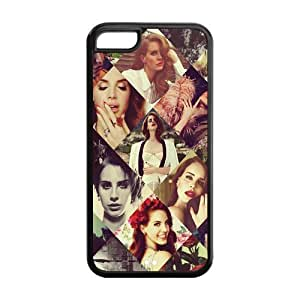 Mystic Zone Personalized Popular Superstar Lana Del Rey Cover Case for iPhone 5 5s TPU (Cheap iPhone 5 5s5)