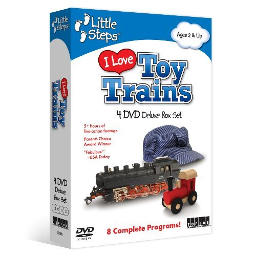 I Love Toy Trains by Various (Trains Store Toy Love)