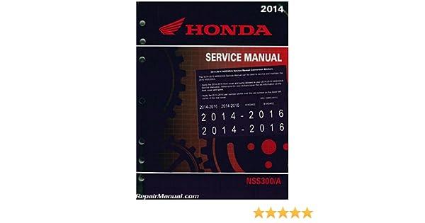 61k0402 2014 2016 honda nss300 a forza scooter service manual 61k0402 2014 2016 honda nss300 a forza scooter service manual manufacturer amazon books fandeluxe Choice Image