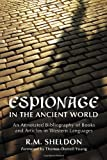 Espionage in the Ancient World, R. M. Sheldon, 0786437685