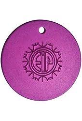 EMF Nikola Tesla Purple Energy Plate - Round Large Pendant