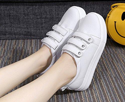 Scratch Confort Femme Basse Rond Plates Bout Sneakers Aisun qBfT6Ywxw