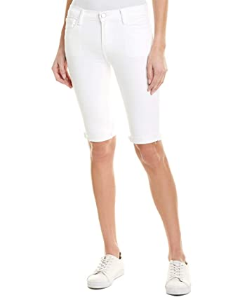 9dc64f11f31a Image Unavailable. Image not available for. Color  J Brand Womens 811 Blanc  Bermuda Short ...