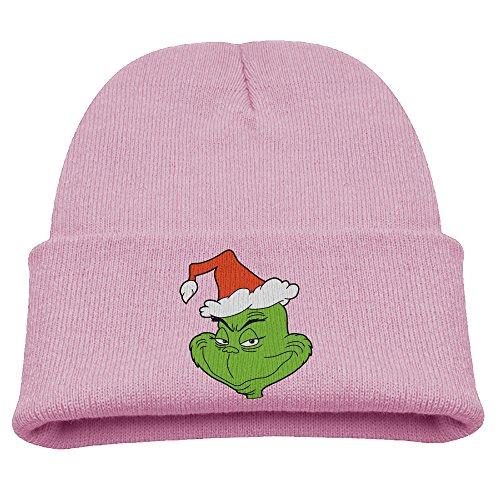 The Grinch Dr Seuss Santa Warm Winter Hat Knit Beanie Skull Cap Cuff Beanie Hat Winter Hats Kids