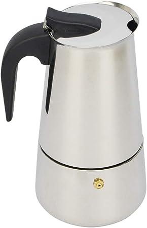 Acier inoxydable Moka Espresso Coffee Pot MAKER Percolateur Cuisinière 2//4//6//9 Tasse