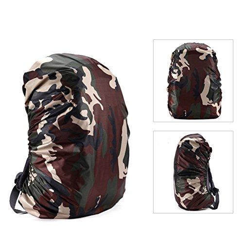 Eachbid Outdoor Camping Hiking Backpack Pack Tarp Rain Cover Raincoat Raincoat Cover for Backpack