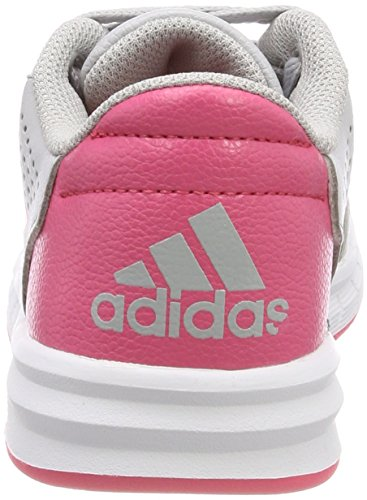 adidas Unisex-Kinder AltaSport Gymnastikschuhe Mehrfarbig (Grey Two F17/real Pink S18/ftwr White)