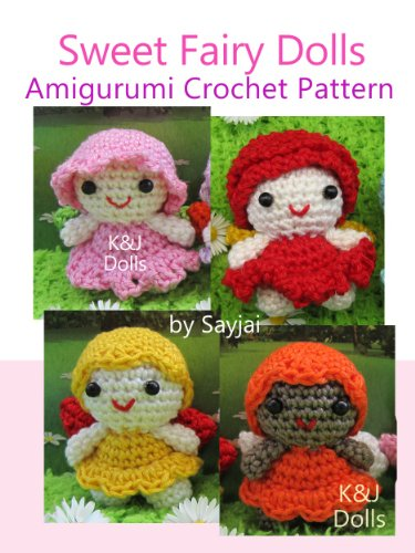 Sweet Fairy Dolls Amigurumi Crochet Pattern Easy Crochet Doll Patterns Book 9