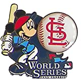 St. Louis Cardinals 2013 World Series Mickey Mouse Pin