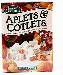 product image for Liberty Orchards Aplets & Cotlets Fruit & Nut Candies, Value Pack, 8 Ounce