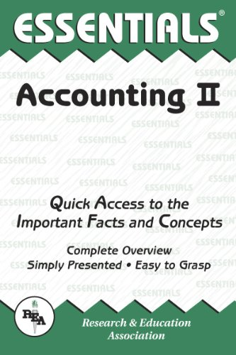 Accounting II Essentials (Essentials Study Guides) (v. 2)
