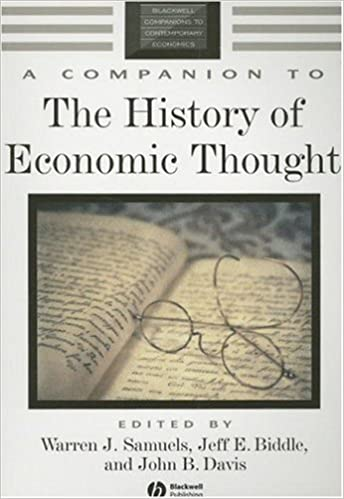 Pdf history of economic thought