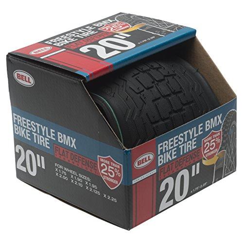 Bell 7091014 Freestyle Flat Defense BMX Bike Tire, 20