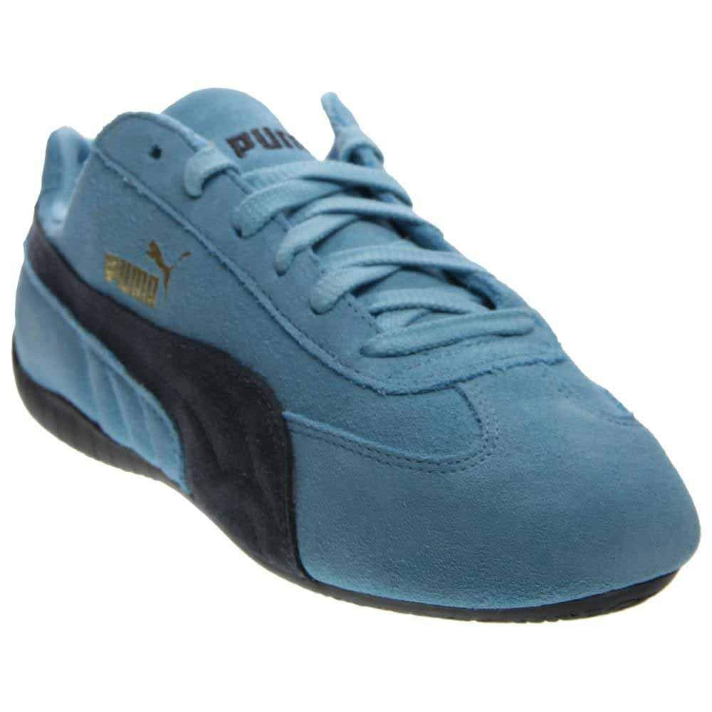 super populaire 43ca0 a1df2 Puma Speed Cat Mens Blue Suede Lace Up Sneakers Shoes 7 ...