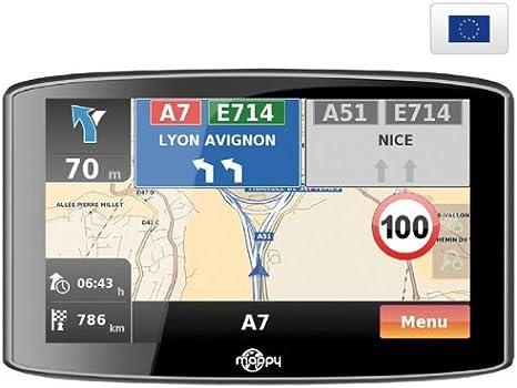 Mappy Ulti S536 Europe Cartes A Vie Gratuite Amazon Fr Gps Auto
