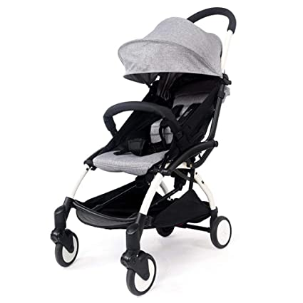 Eeayyygch Cochecito para bebé: se Puede sentar fácilmente Plegable Súper Ligero Portátil Mini Bolsillo Coche