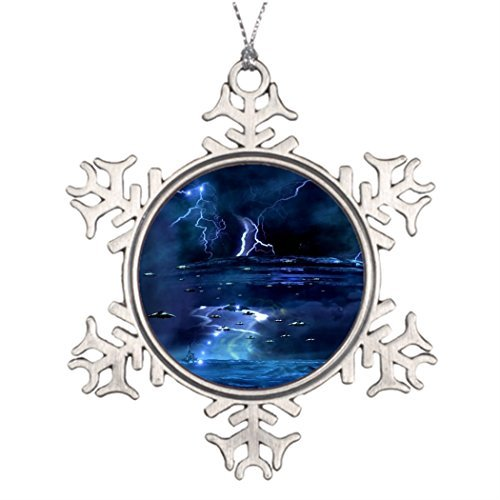 EvelynDavid Ideas for Decorating Christmas Trees They are Coming Western Snowflake Ornaments Tree Decor