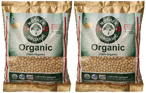 Mother Organic Soyabeen Whole, 17.6 Ounce (Pack Of 2) by Mother Organic
