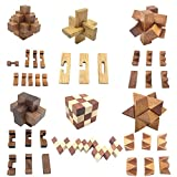 Guaishou 6-in-One 3D Luxury Wooden Brain Puzzle