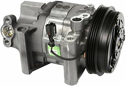 BuyAutoParts 60-84608RN NEW OEM AC Compressor w//A//C Repair Kit For�Subaru Legacy Outback Baja 2000 2001 2002 2003 4-Groove