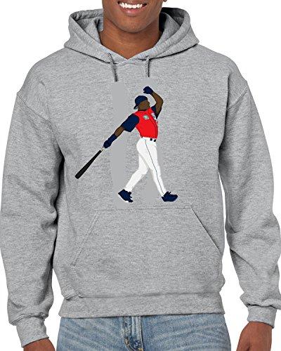 Home Sosa Sammy Run Derby - Tobin Clothing Gray Seattle Griffey Jr Home Run Derby Hooded Sweatshirt Adult XL