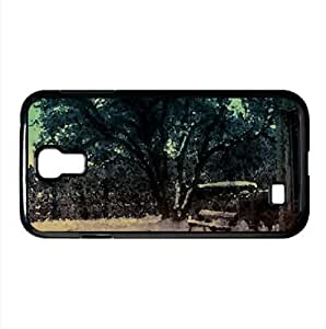 Snowy Tree Watercolor style Cover Samsung Galaxy S4 I9500 Case (Winter Watercolor style Cover Samsung Galaxy S4 I9500 Case)