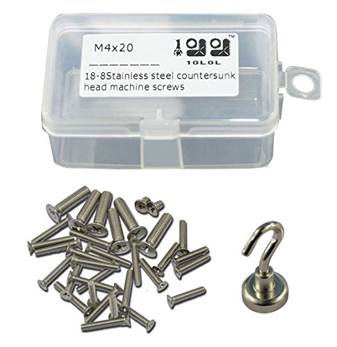 10L0L Stainless Countersunk Machine Pillips