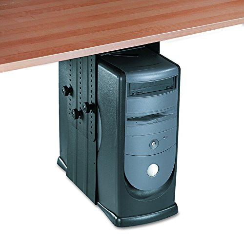 Fellowes 8036201 Under Desk CPU Holder, 17w x 12d x 11h, Black by Fellowes