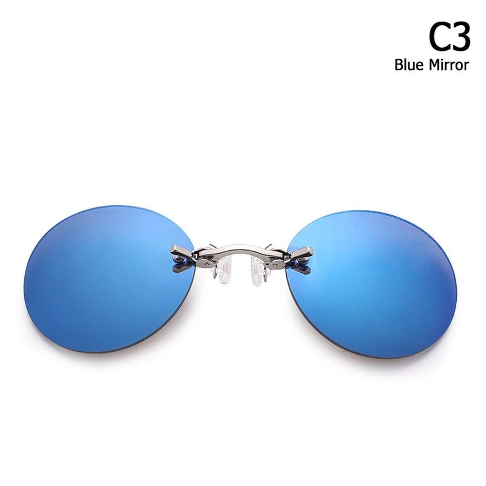 ZHOUYF Gafas de Sol Moda The Matrix Morpheus Estilo Gafas De ...