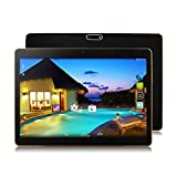YDZB 2018 New Android Tablet 10 inch Octa Core 10 inch Tablet PC Android 6.0 Octa Core 4GB RAM 64GB ROM Dual SIM 5.0MP GPS (Black)