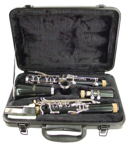 Clarinet Musical Instrument (Hisonic Signature Series 2610 Bb Orchestra Clarinet with Case)