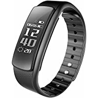 Omnix: IWOWN I6 HR 0. 96 Inch OLED Display Bluetooth 4. 0 Smart Bracelet, Support Call / Message Display With Android And IOS Phones (Black)