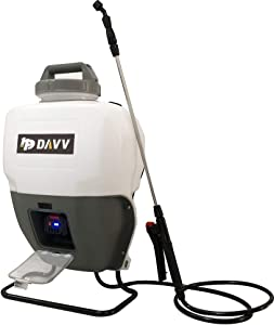 HPDAVV - 4 Gallon - Battery Powered Backpack Sprayer - Portable Cordless Electric Lawn & Garden Spray