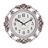 20-Inch Super Large Size Decorative Wall Clock With Silent Quiet Quartz Movement DYD66154 (#C-White) Review