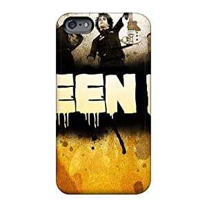 Shockproof Hard Phone Covers For Apple Iphone 6s Plus With Support Your Personal Customized Attractive Green Day Skin MarkMacarthur