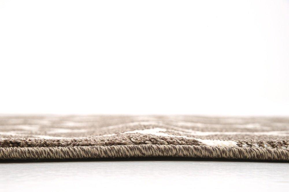 Unique Loom Trellis Collection Moroccan Lattice Light Brown Home Décor Runner Rug (2 x 6)