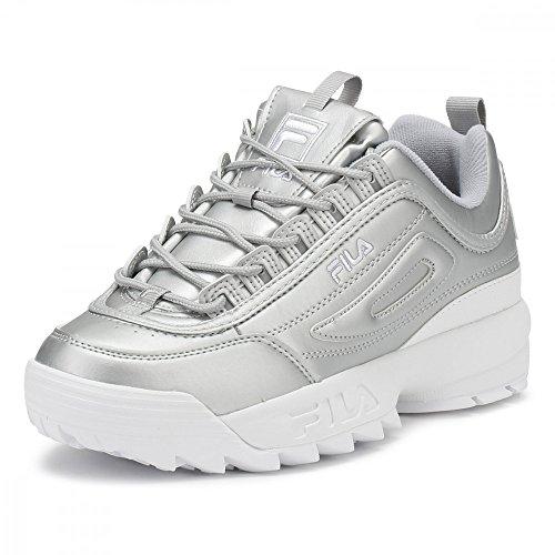Fila Disruptor Premium Sneakers Women's Silver II ff6qrTxAz7