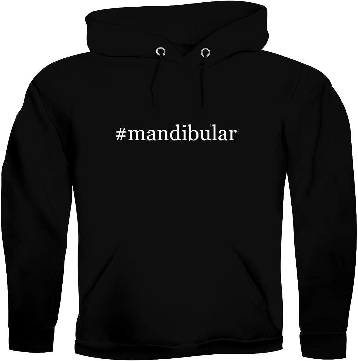 #mandibular - Men's Hashtag Ultra Soft Hoodie Sweatshirt