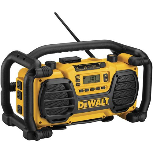 Factory-Reconditoned DEWALT DC012R HD Worksite Radio/Charger