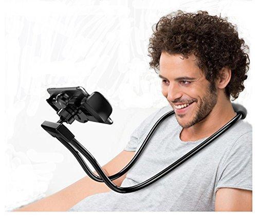 Glodenbridge Lazy Neck Phone Holder, Flexible Cell Phone Holder Long Arm Lazy Bracket Cellphone Holder Stand, For Mobile…