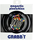 Grabbit Magnetic Sewing Pincushion with 50 Plastic