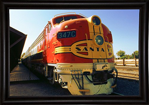 Santa Fe Railroad Print 26.67