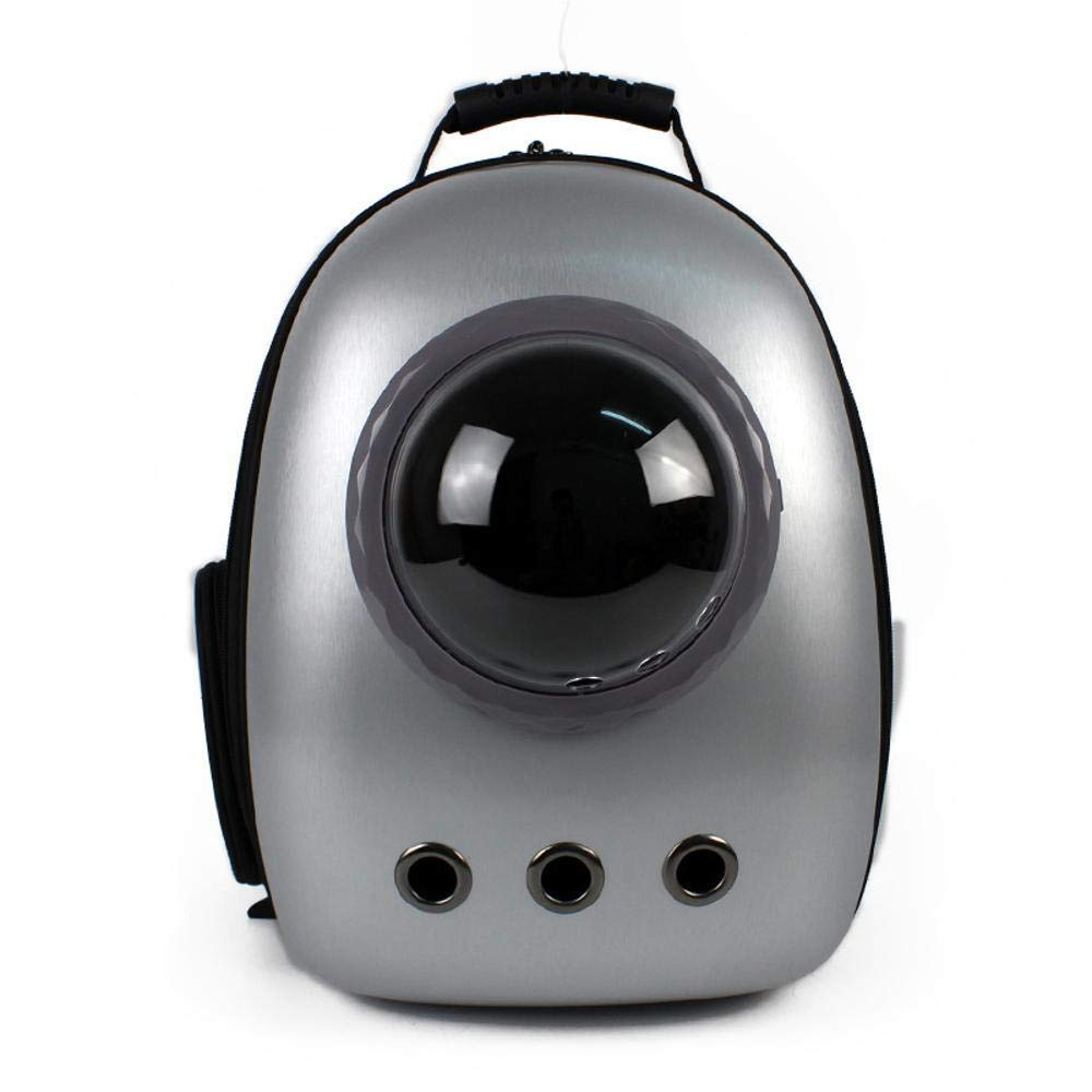 Maerye Space Pet Backpack can Expand Portable Breathable cat Bag Dog Bag Backpack pet Bag pet Transport Bag Suitable for pet Around 4-6 kg