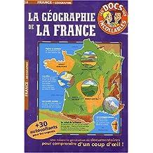 GÉOGRAPHIE DE LA FRANCE (LA) + 30 AUTOCOLLANTS