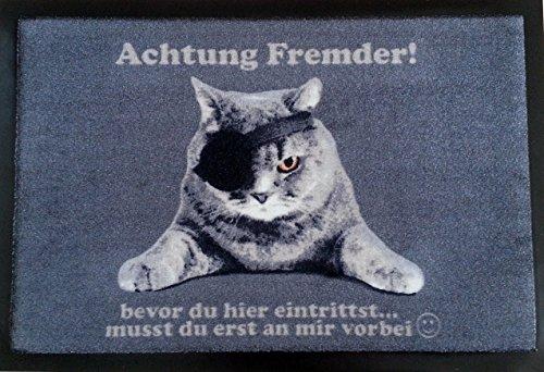 Turmatte Fussmatte Piraten Katze Fussabtreter Tur Vorleger Cats Cat