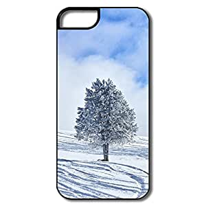 Snowy Lone Tree Customize Movies IPhone 5/5S Case
